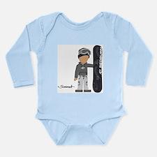 Funny Cyrus Long Sleeve Infant Bodysuit