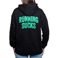 Running Sucks Women's Hooded Sweatshirt
