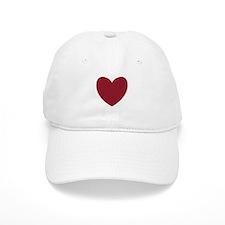 MAROON Heart 13 Baseball Cap