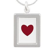 MAROON Heart 13 Necklaces