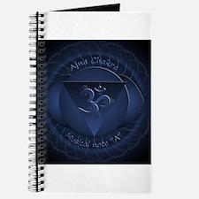 Mandala for Brow Chakra Journal