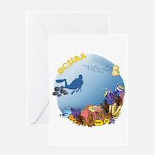 SCUBA Reef Greeting Card