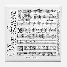 Vox Lucens #1 Tile Coaster