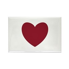 MAROON Heart 13 Magnets