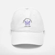 Esophageal Cancer Butterfly 6.1 Baseball Baseball Cap
