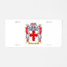 Laurent Aluminum License Plate