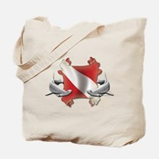 SCUBA Hammerheads Tote Bag