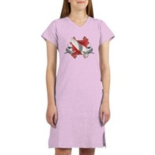 SCUBA Hammerheads Women's Nightshirt