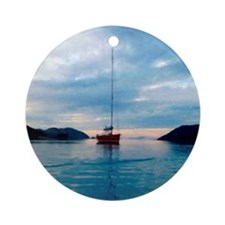 Biscayne Bay Ornament (Round)