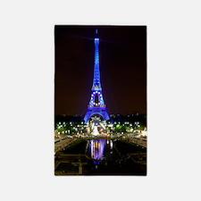Cute Paris eiffel tower Area Rug