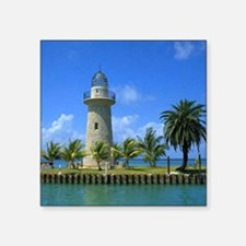 "Biscayne National Park Square Sticker 3"" x 3"""
