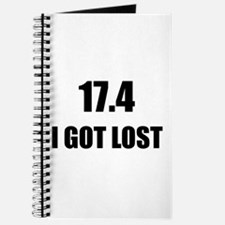 I Got Lost Journal