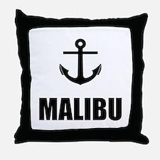 Malibu Anchor Throw Pillow