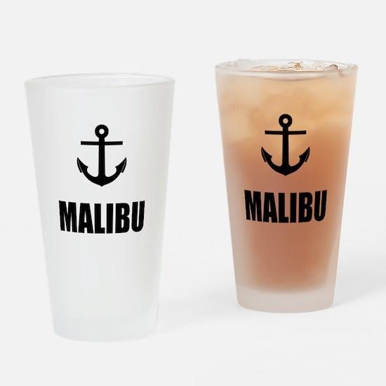 Malibu Anchor Drinking Glass