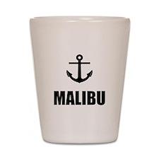 Malibu Anchor Shot Glass
