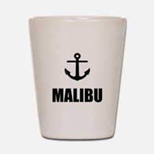 Malibu Anchor Shot Glass