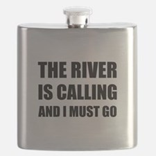 River Calling Must Go Flask