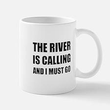River Calling Must Go Mugs