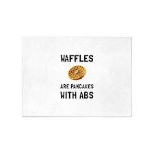 Waffles Abs 5'x7'Area Rug