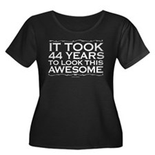 44 Awesome Years Plus Size T-Shirt