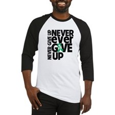 Liver Cancer Motto Baseball Jersey