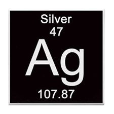 47. Silver Tile Coaster