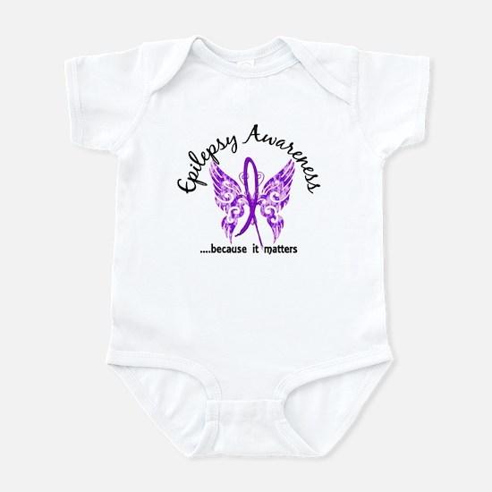 Epilepsy Butterfly 6.1 Infant Bodysuit