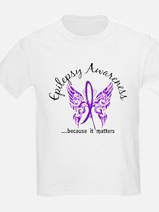 Epilepsy Butterfly 6.1 T-Shirt