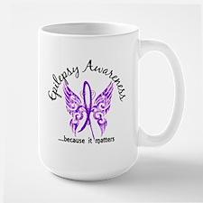 Epilepsy Butterfly 6.1 Mug