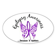 Epilepsy Butterfly 6.1 Decal