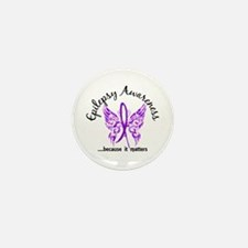 Epilepsy Butterfly 6.1 Mini Button (10 pack)
