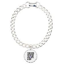 Hodgkins Lymphoma Motto Bracelet