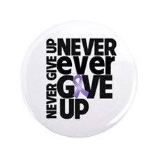 "Hodgkins Lymphoma Motto 3.5"" Button (100 pack)"