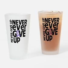 Hodgkins Lymphoma Motto Drinking Glass
