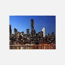 New York City Skyline 5'x7'Area Rug