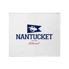 Nantucket - Massachusetts. Throw Blanket