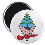 """Gardener 2.25"""" Magnet (10 pack)"""