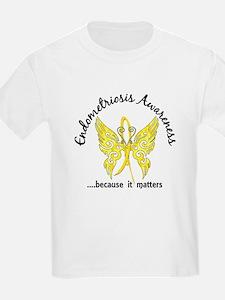 Endometriosis Butterfly 6.1 T-Shirt