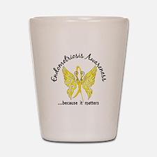 Endometriosis Butterfly 6.1 Shot Glass