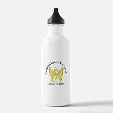 Endometriosis Butterfl Water Bottle