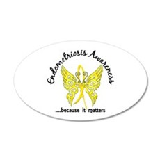 Endometriosis Butterfly 6.1 Wall Decal