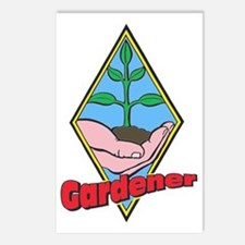 Gardener Postcards (Package of 8)