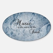 Music voice of the soul Decal
