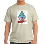 Gardener Ash Grey T-Shirt for Garden Lovers