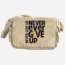 Ewing Sarcoma Motto Messenger Bag