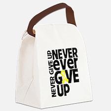 Ewing Sarcoma Motto Canvas Lunch Bag