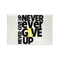 Ewing Sarcoma Motto Rectangle Magnet (10 pack)