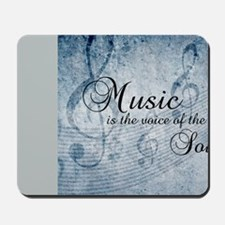 Music voice of the soul Mousepad