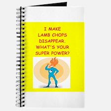 lamb chops Journal