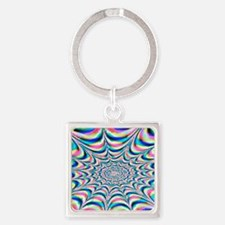 Beach Party 1965 Square Keychain